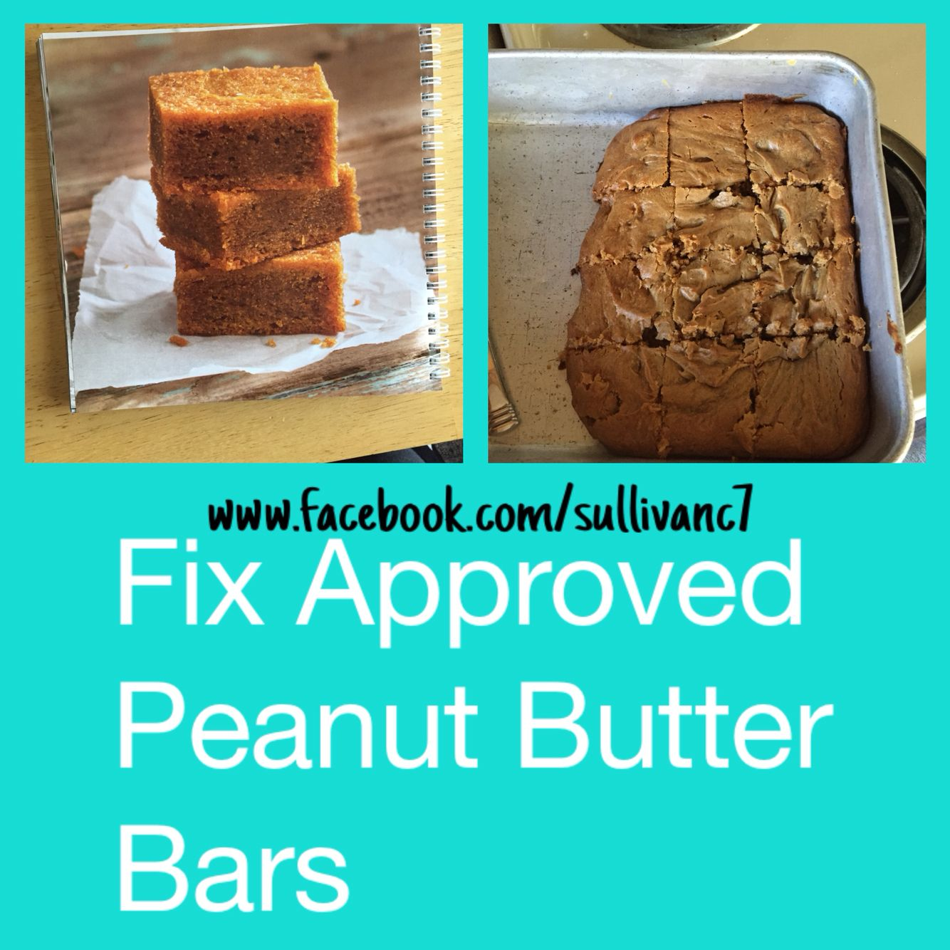 Who doesn't love peanut butter bars! Yummy and fix approved! #fixate #fixapproved #21dayfix