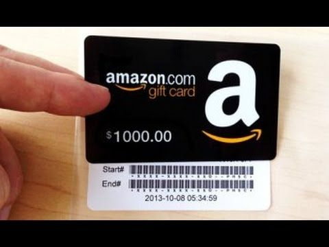 Amazon Gift Card Codes How To Get Https Youtu Be 1n Hb80tlla Amazon Gift Card Free Visa Gift Card Free Amazon Products