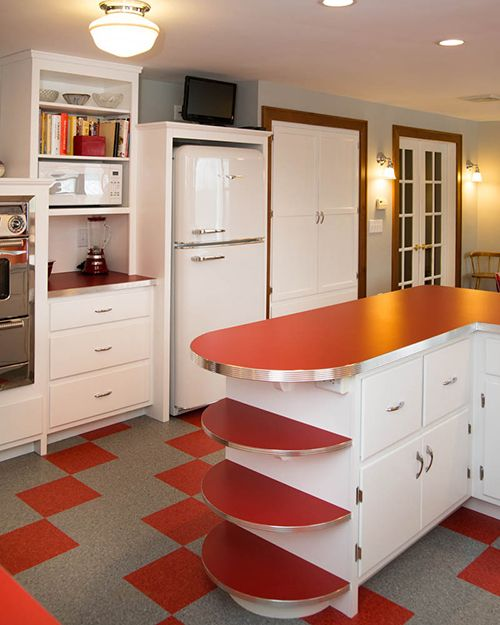 Superb Best Tips For Retro Kitchens Colors Kitchen Cabinets Interior Design Ideas Philsoteloinfo