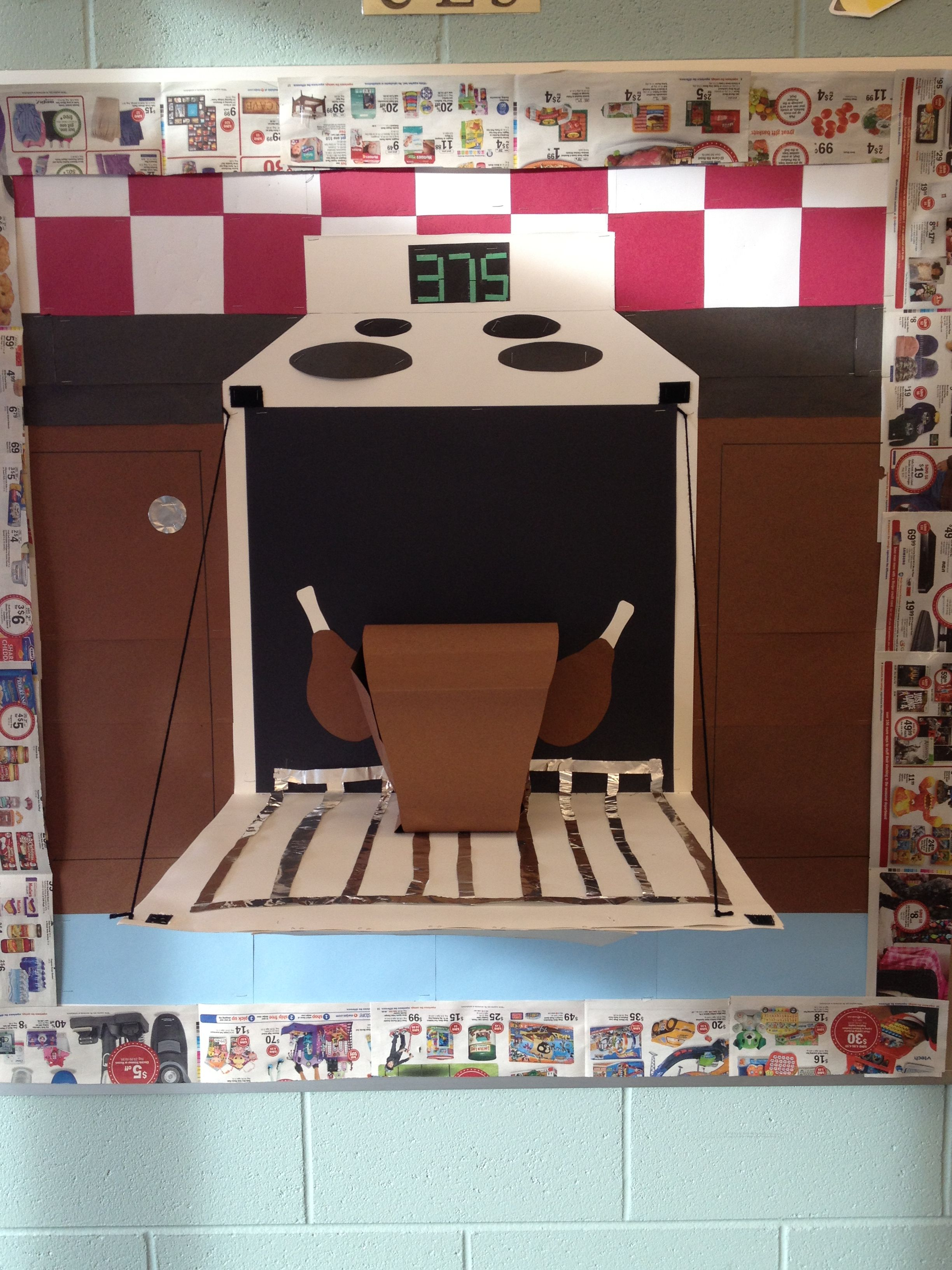 cooking themed popup board classroom theme ideas pinterest