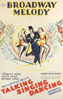 """""""The Broadway Melody"""", 1929."""