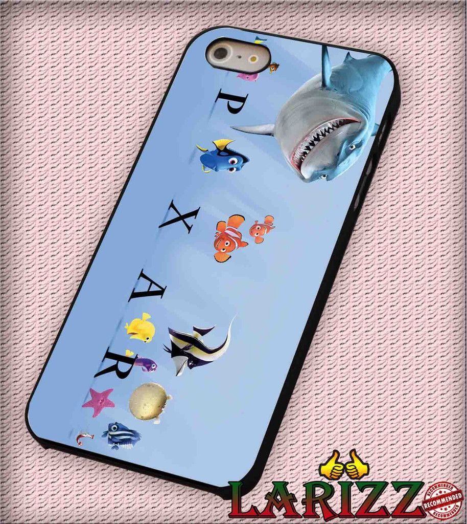 "pixar finding nemo for iphone 4/4s/5/5s/5c/6/6 , Samsung S3/S4/S5/S6, iPad 2/3/4/Air/Mini, iPod 4/5, Samsung Note 3/4 Case ""007"""