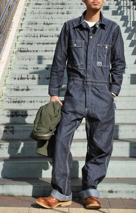 e71bc81d1718 Real McCoy s 8 hour union workalls. Mens Coveralls