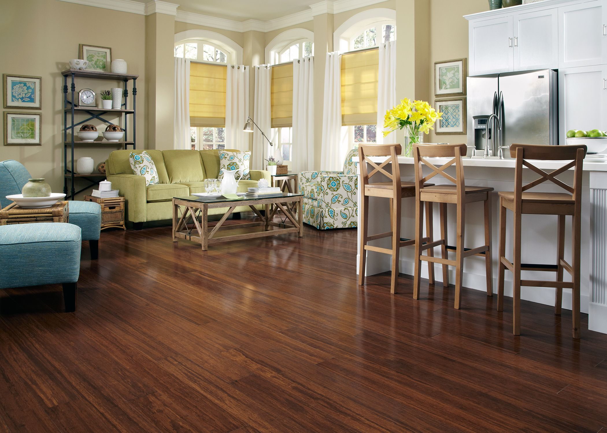 Bellawood Bamboo Flooring Is A Beautiful And Earth Friendly Way To
