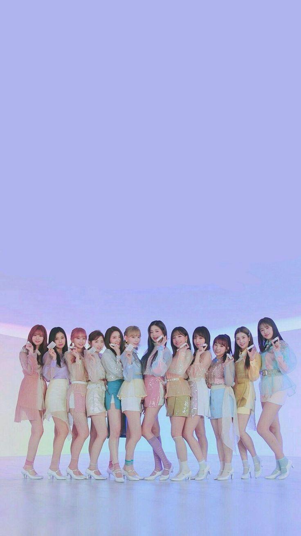 Izone Lockscreen Kpop Girl Bands Kpop Wallpaper Kpop Girls