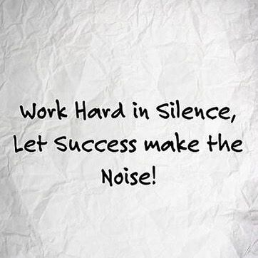 Work Hard #Quote #morningmemo #notetosself | via @juneambrose (Instagram)