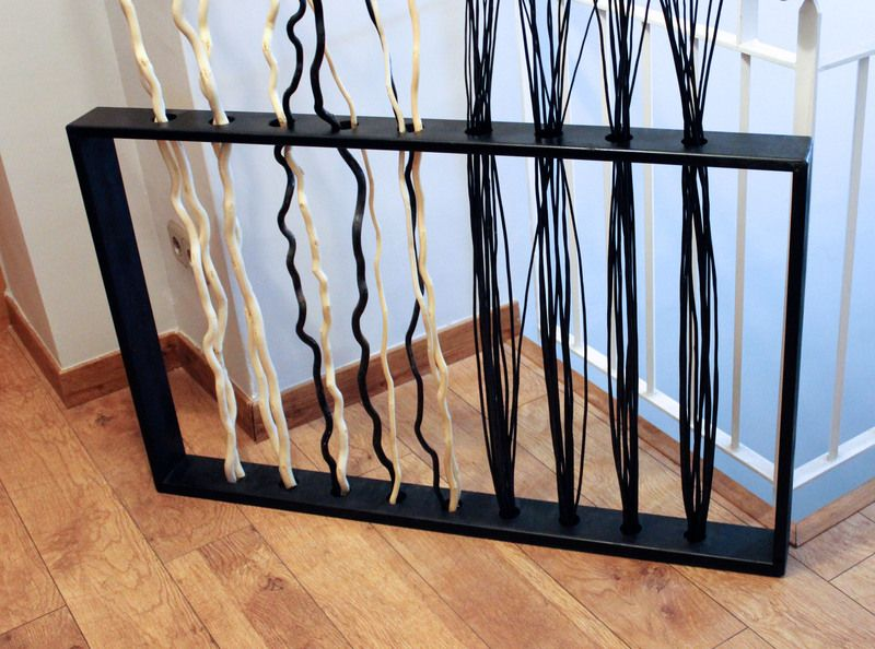 Base decorativa de madera que puedes combinar con bamb - Varillas de madera ...