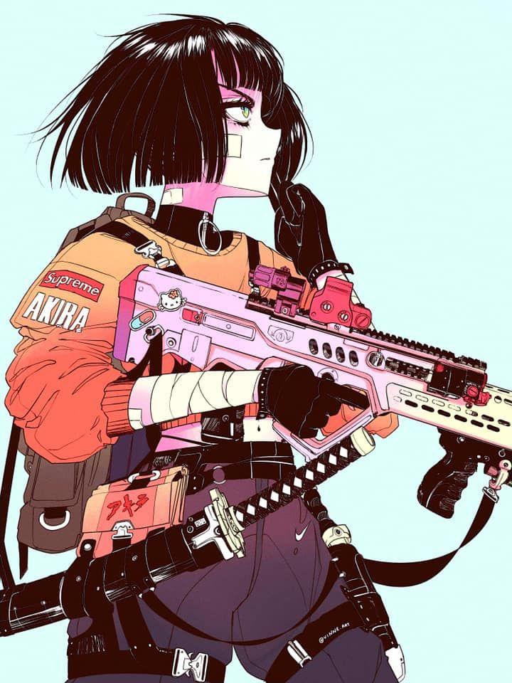 Vinne Creates Eye Catching Japanese Cyberpunk Art