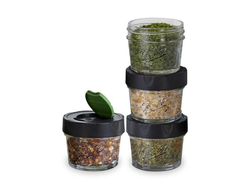 Ball® Dry Herb Jars 4-oz at Fresh Preserving Store .greennutrilabs.com  sc 1 st  Pinterest : herb storage containers  - Aquiesqueretaro.Com