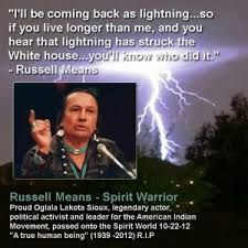 Image result for andy warhol painting of russell means