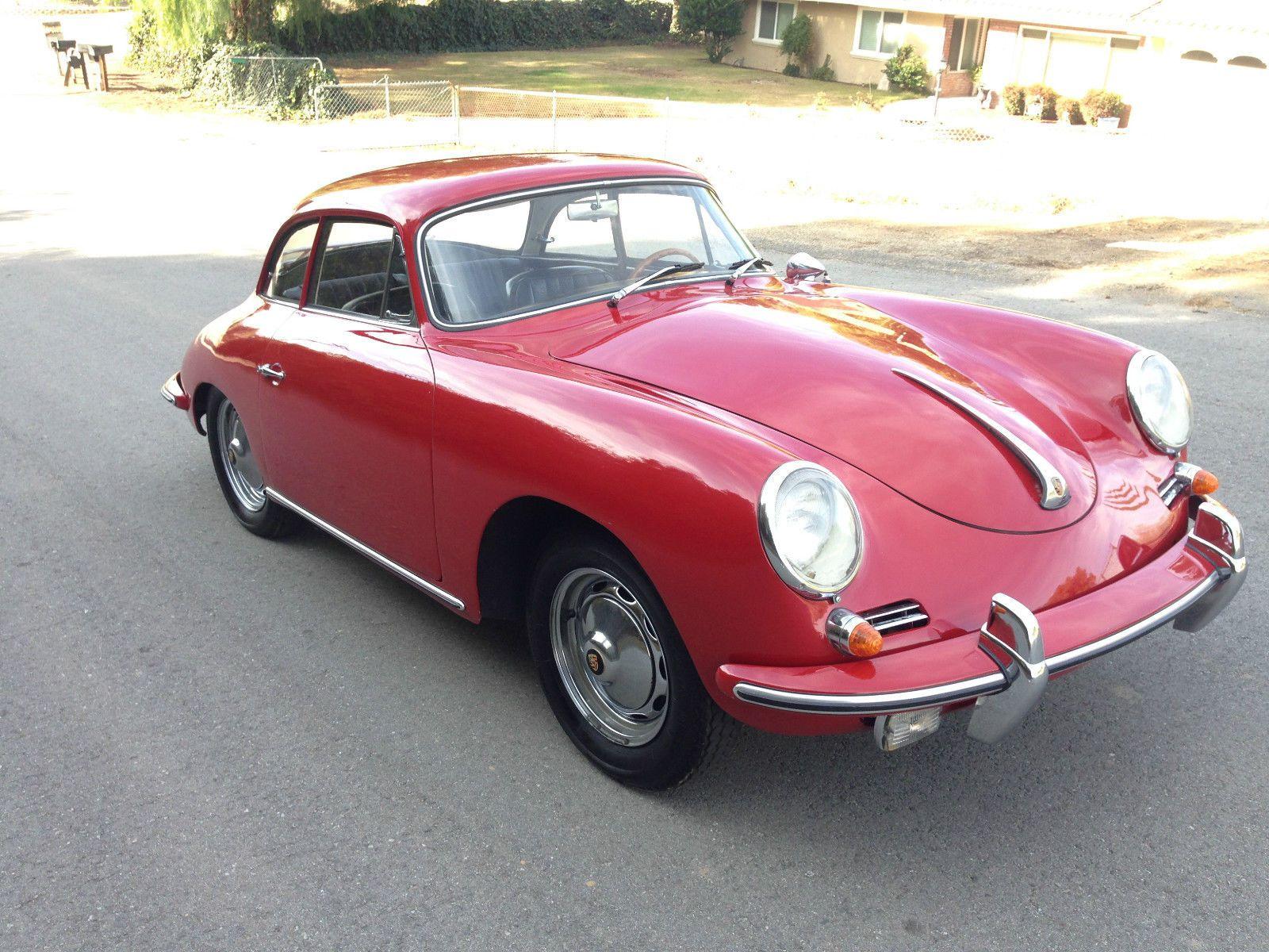 1961 Porsche 356 1600 Super Notch Back (2016-01-16-16AF518)