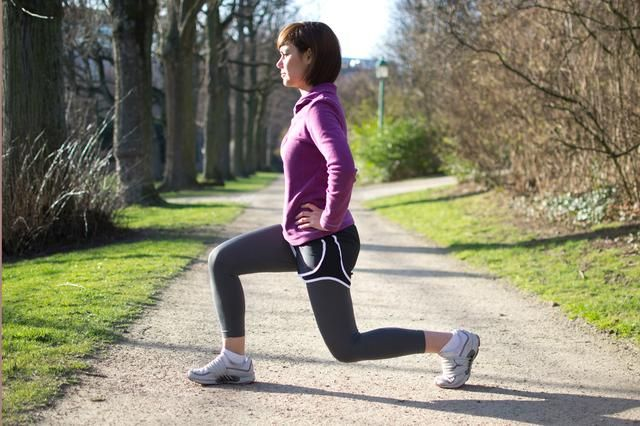running stretches, dynamic stretches, stretch before run, running warm-up