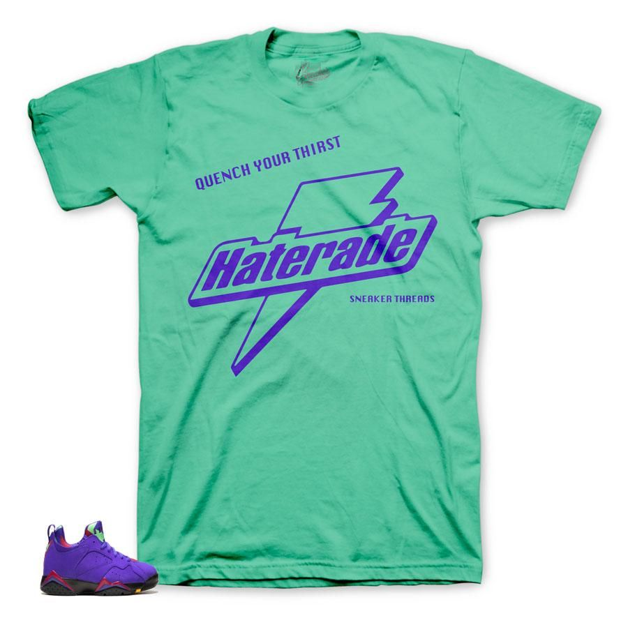 171df94a2dc Jordan 7 Low Concord Shirt - Haterade - Green in 2019 | kyrie ...