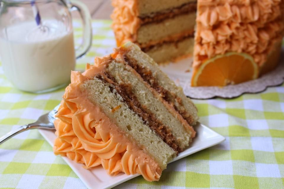 Orange crunch cake1 bubble room orange crunch cake