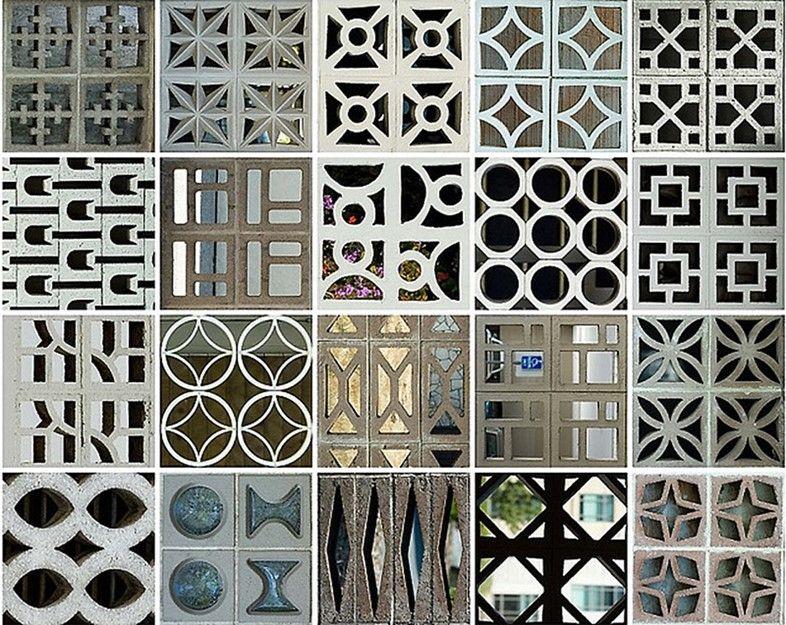 Patterns In The Everyday Breeze Blocks Concrete Decor Breeze