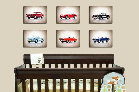 Ford Mustang 1964 photo print,boys room decor,nursery