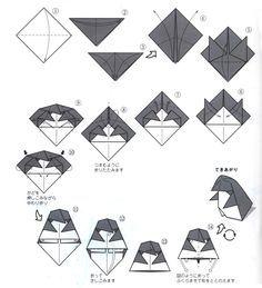 ペンギンの折り方解説
