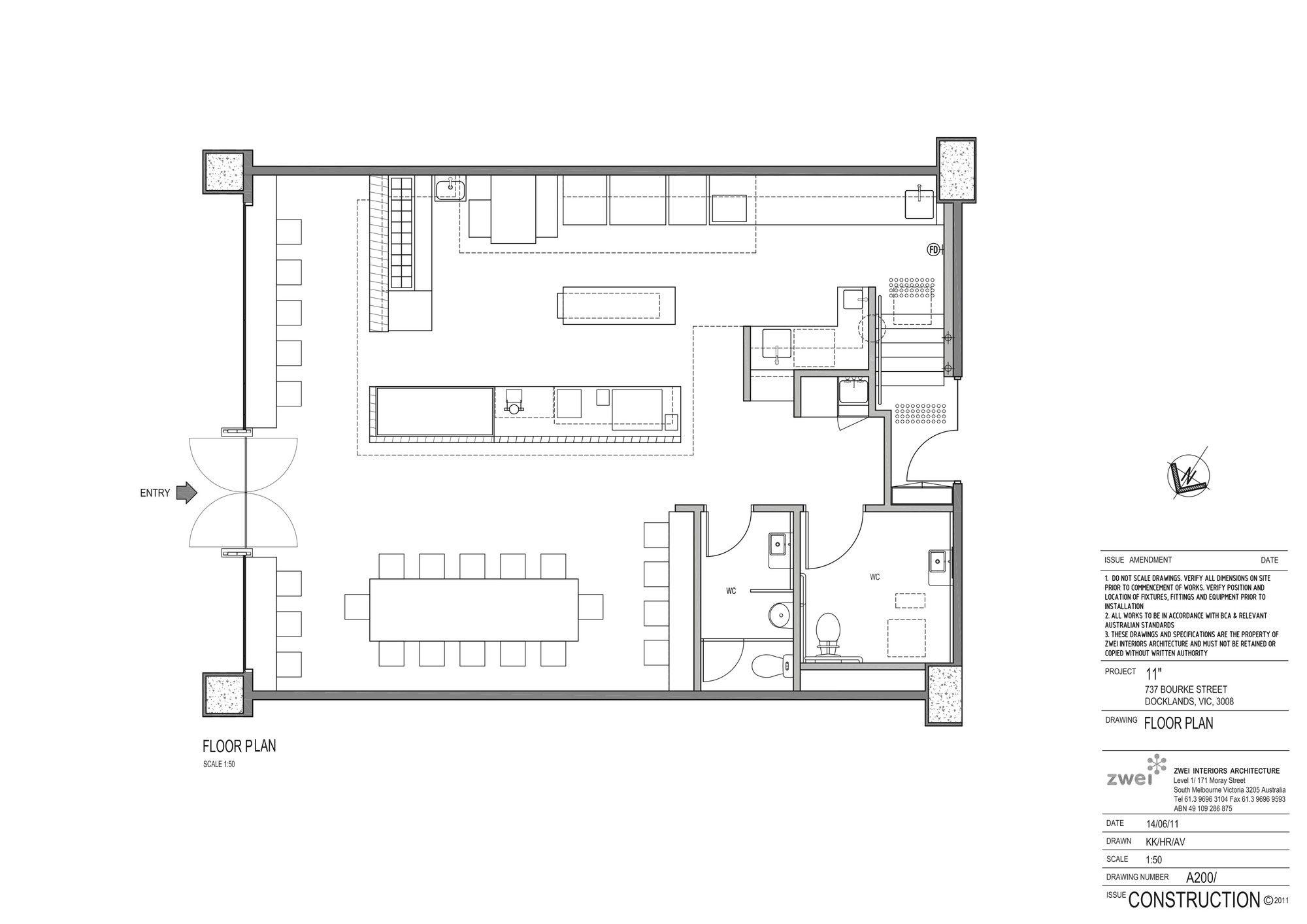 Gallery Of Eleven Inch Pizza Zwei 8 Shop House Plans Floor Plan Design Floor Plans