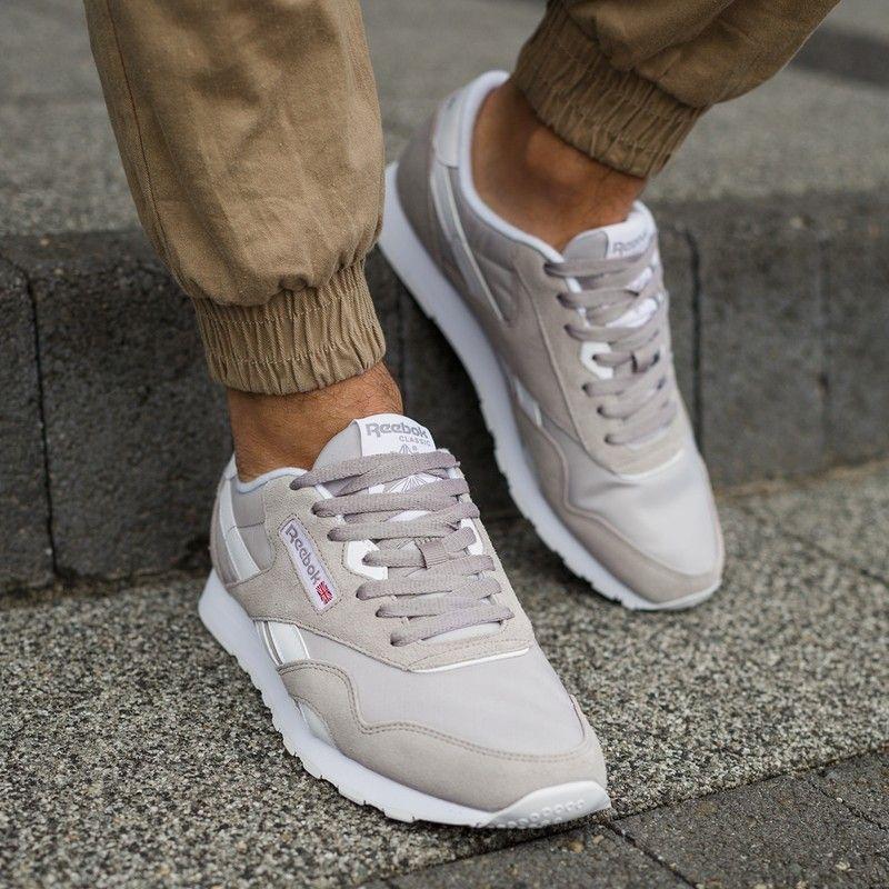 REEBOK CL NYLON kolor SZARY od 199,99 PLN! Kultowe Sneakersy | Męskie Buty w  ✪ Sklep Sizeer ✪