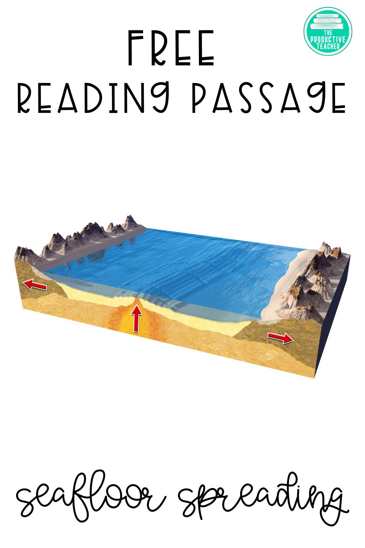 Seafloor Spreading Free Science Reading Passage Science Reading Passages Seafloor Spreading Science Reading [ 1500 x 1000 Pixel ]