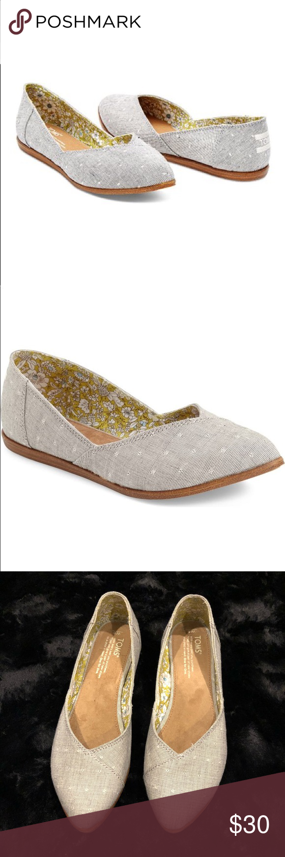 I just added this listing on Poshmark TOMS Jutti Pointed Toe Flats