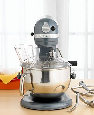 Ordered The Kitchen Aid 6 Qt Professional 600 Mixer In Blue Steel Today For Myself