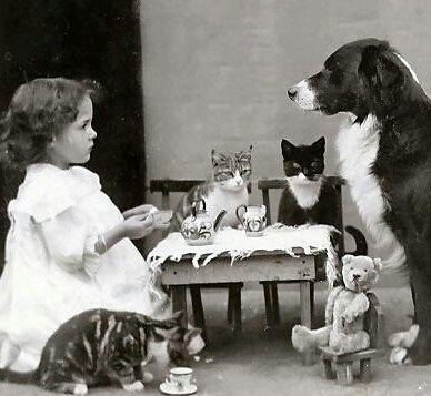 Tea Party, ca. 1900