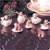 Hallmark Channel Tiny Tea Party Set Six Mice Series 1991 Miniature ...