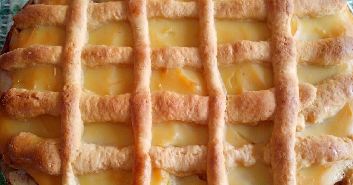 Kuchen De Manzana Con Crema Pastelera Receta De Bebe Bichito Receta Kuchen De Manzana Crema Pastelera Pastelera