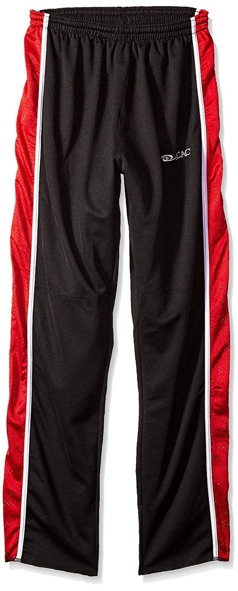 Broomball Bullet Broom Pants - Black/Red/White - CN11HZU3Z0H - Sports & Fitness Clothing, Boys, Pant...