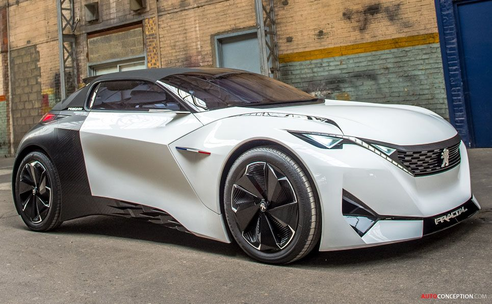 peugeot fractal concept wins french car design award | cars
