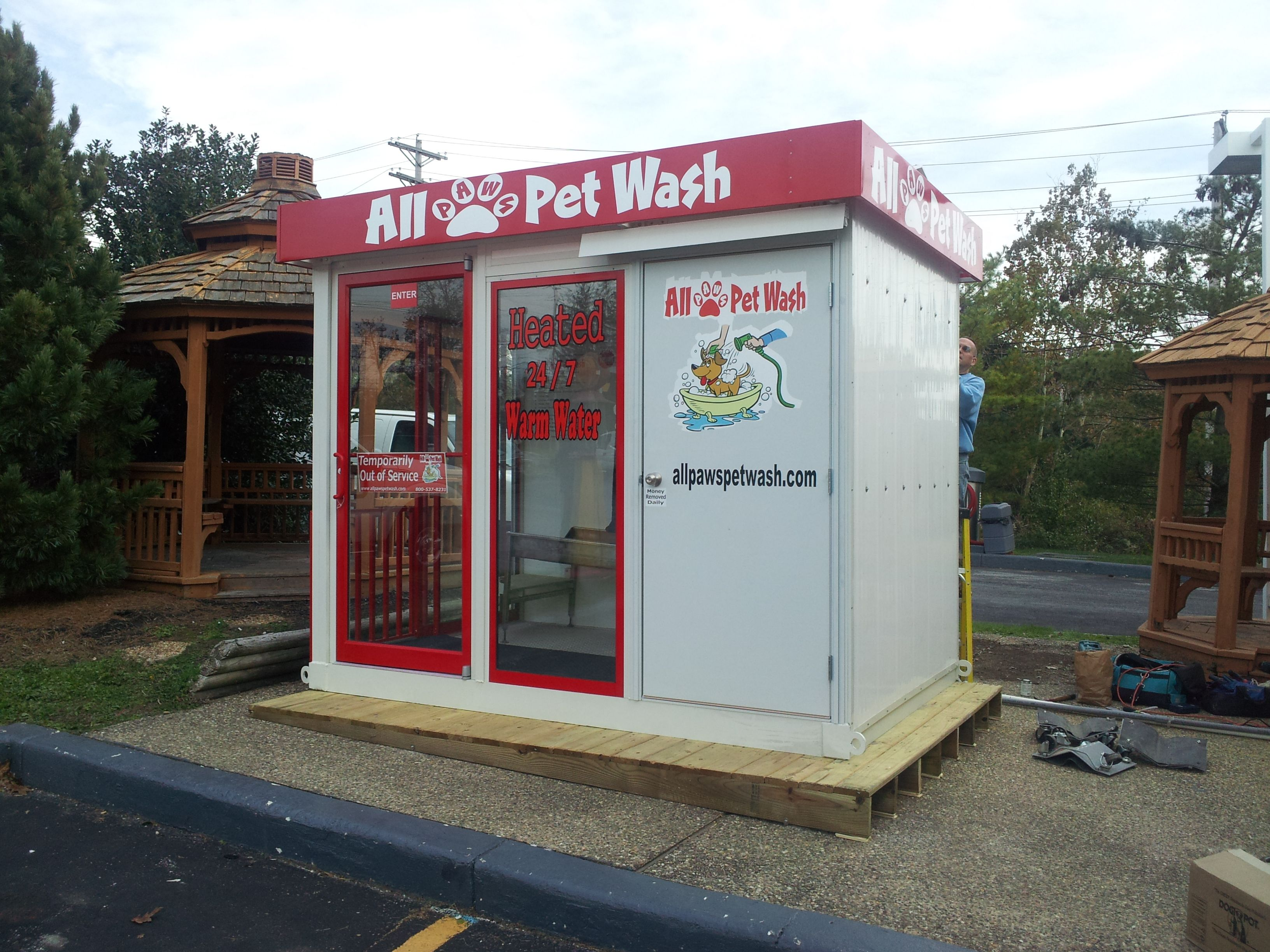 Gas Station With Drive Thru Car Wash >> Outdoor Dog Wash Station Buethe Org Dog Washing Station
