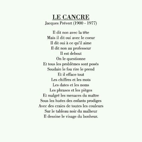 Jacques Prévert Poetry Quotes French Quotes French Poems