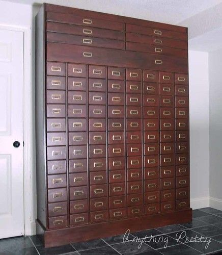 diy card catalog murphy bed with images  murphy bed