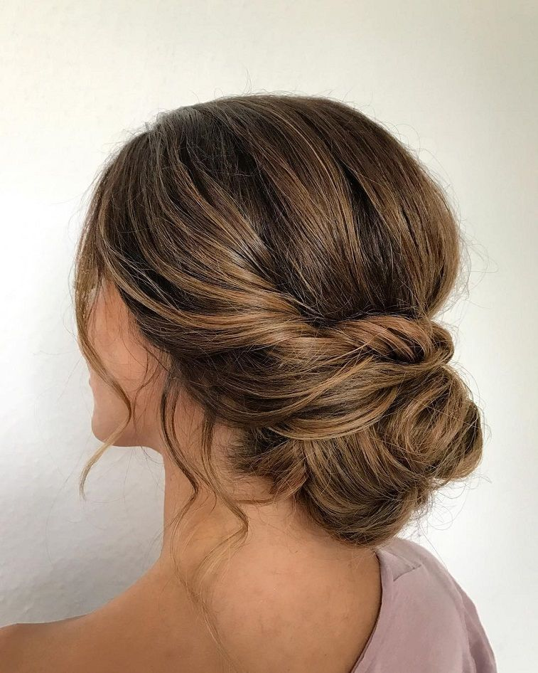 Effortless Bridesmaid Upstyles: Gorgeous Textured Updo Hairstyles They'll Work For Any