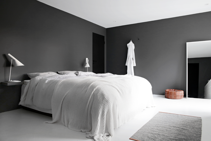 Farge: LADY Pure Color 9925 Bergknatt Speil fra IKEA og rullegardin fr? Princess Grey bedroom ...