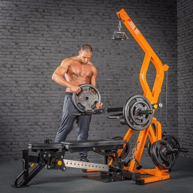 3 Simple Steps For Building Muscle Mass With Images Home Workout Equipment Workout Stations Commercial Gym Equipment
