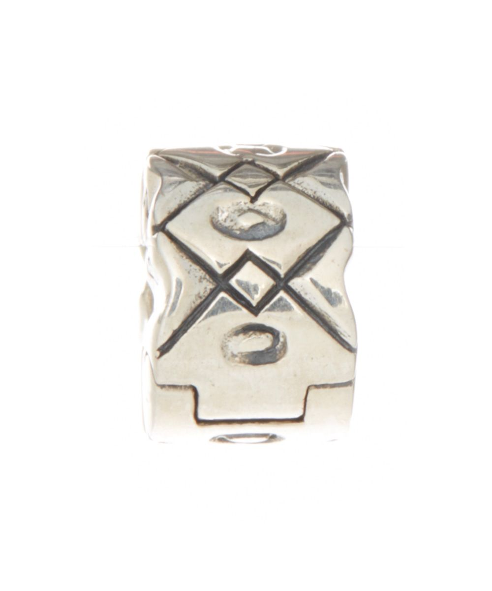 Sterling Silver Geometric Bead