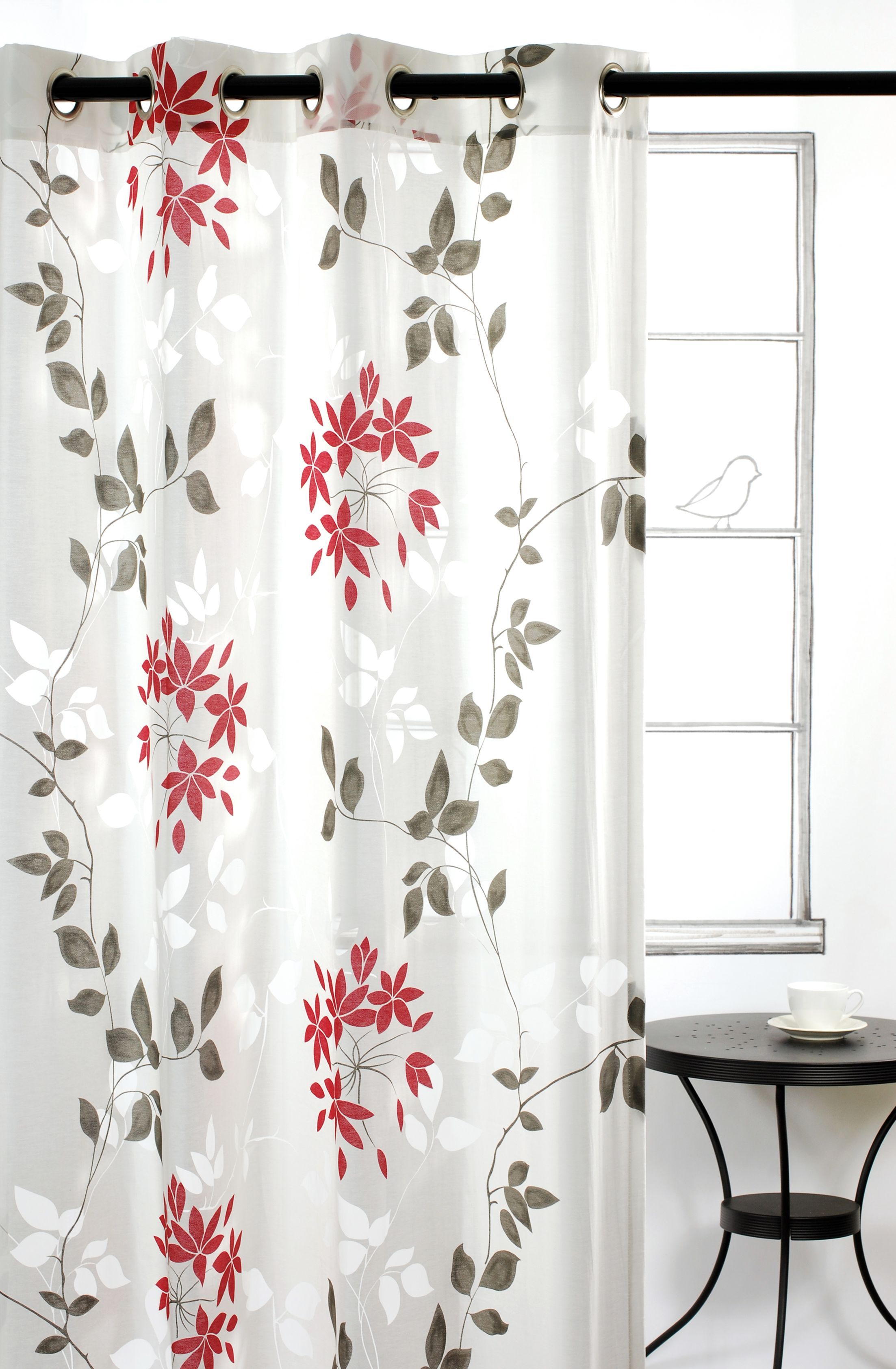Dreamscape Burnout Grommet Window Panels