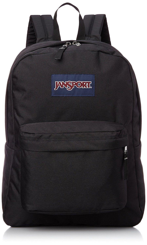 74c34e0e5f9a JanSport Unisex Black SuperBreak Backpack in 2019 | Pick a BAG ...