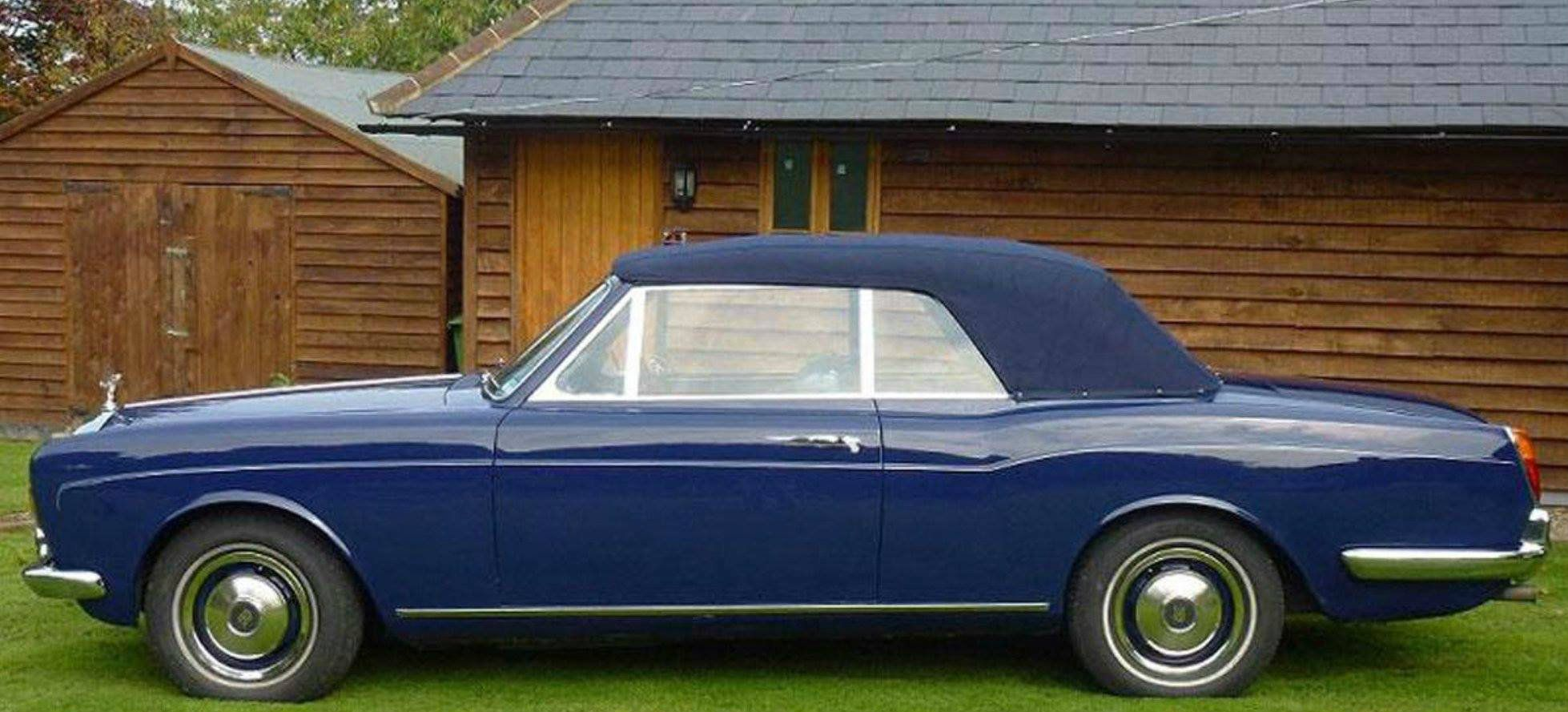 Chassis DRH10733 (1971) for Bruce Forsyth   Convertible ...