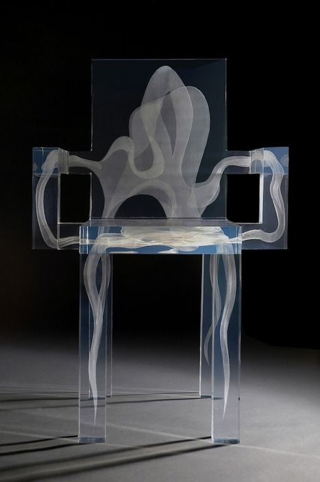 new twist on the origional ghost chair - the inner design is made ...