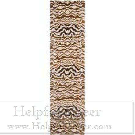 Safavieh Handmade Tribal Beige New Zealand Wool Rug 2 x27 6 x 8 x27 - at