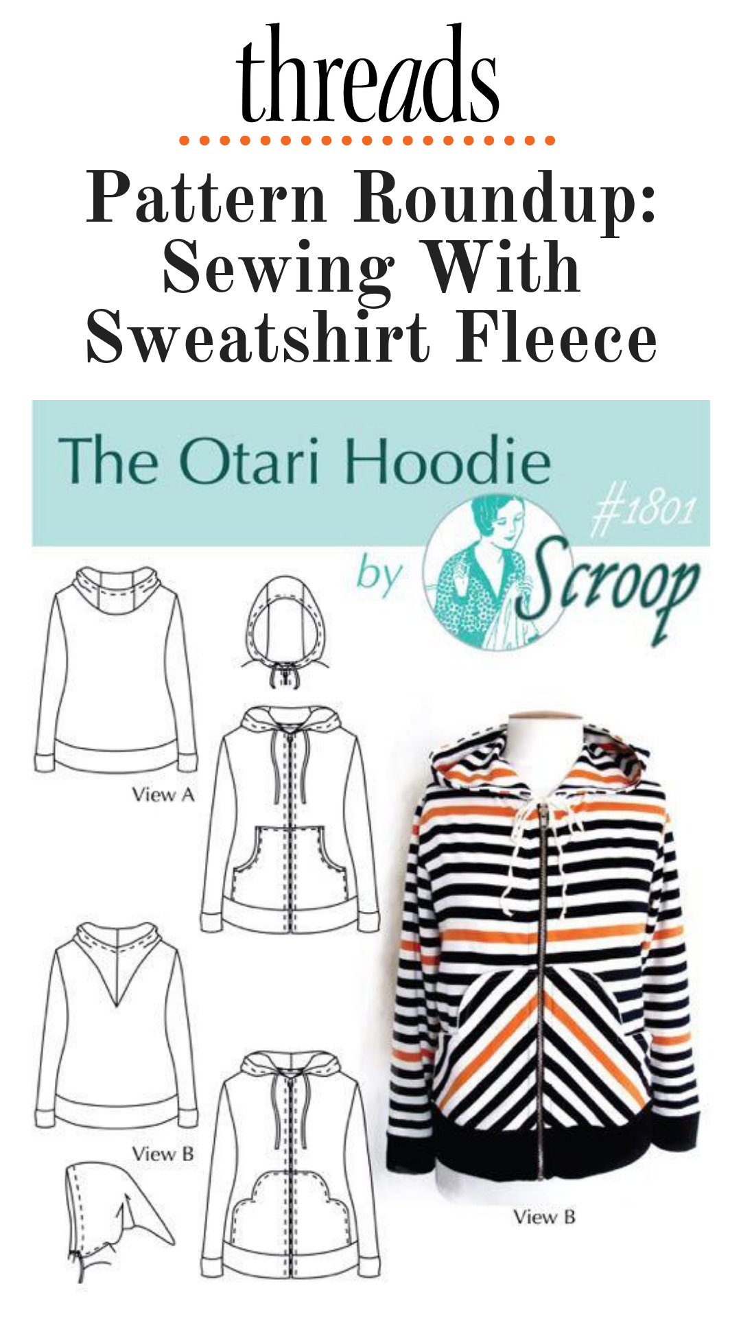 Pattern Roundup: Patterns for Sewing with Sweatshirt Fleece   Sew It !