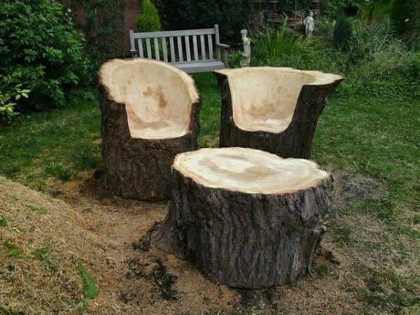Was Kann Man Aus Einem Baumstamm Machen Home Ideen