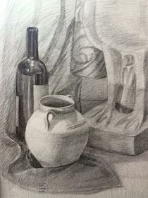 Mahmued Art رسم طبيعه صامته بالرصاص Drawing Still Life Art Painting Drawings