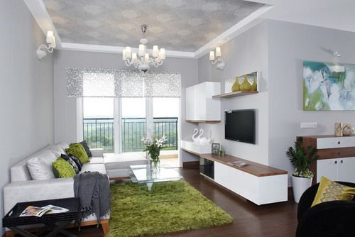 Schmales Wohnzimmer ~ Skyline ivy league living room with l shaped sofa contemporary