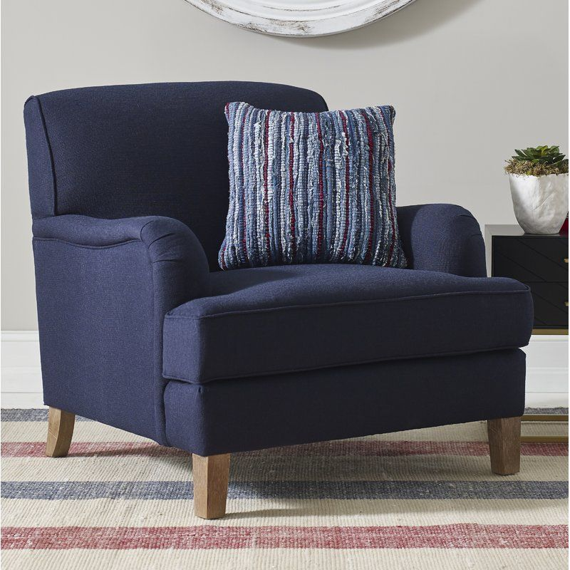 Cardiff armchair blue couch living room armchair blue