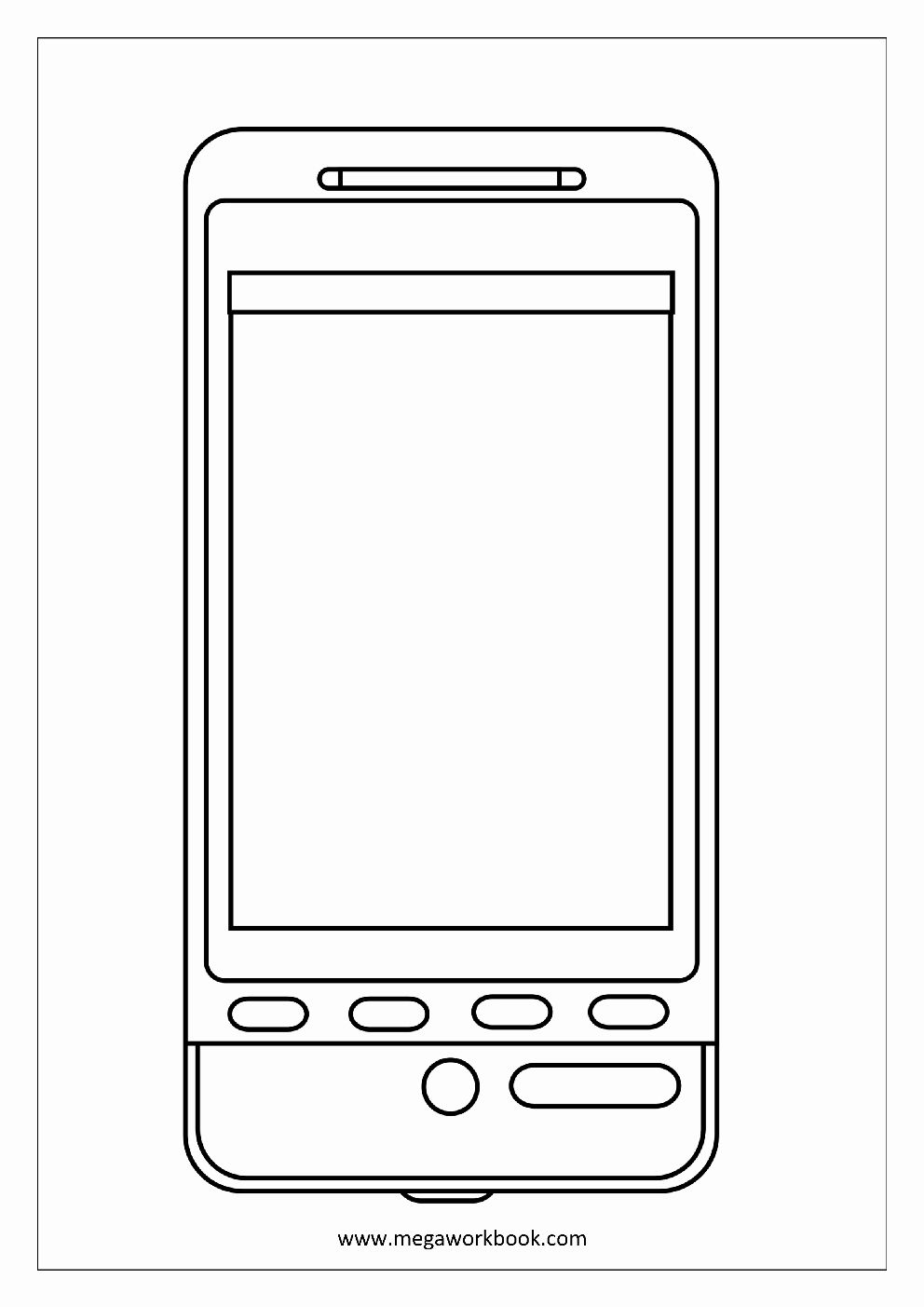 Cell Phone Coloring Page Beautiful Free Coloring Sheets Miscellaneous Megaworkbook Coloring Pages Inspirational Coloring Pages Candy Coloring Pages