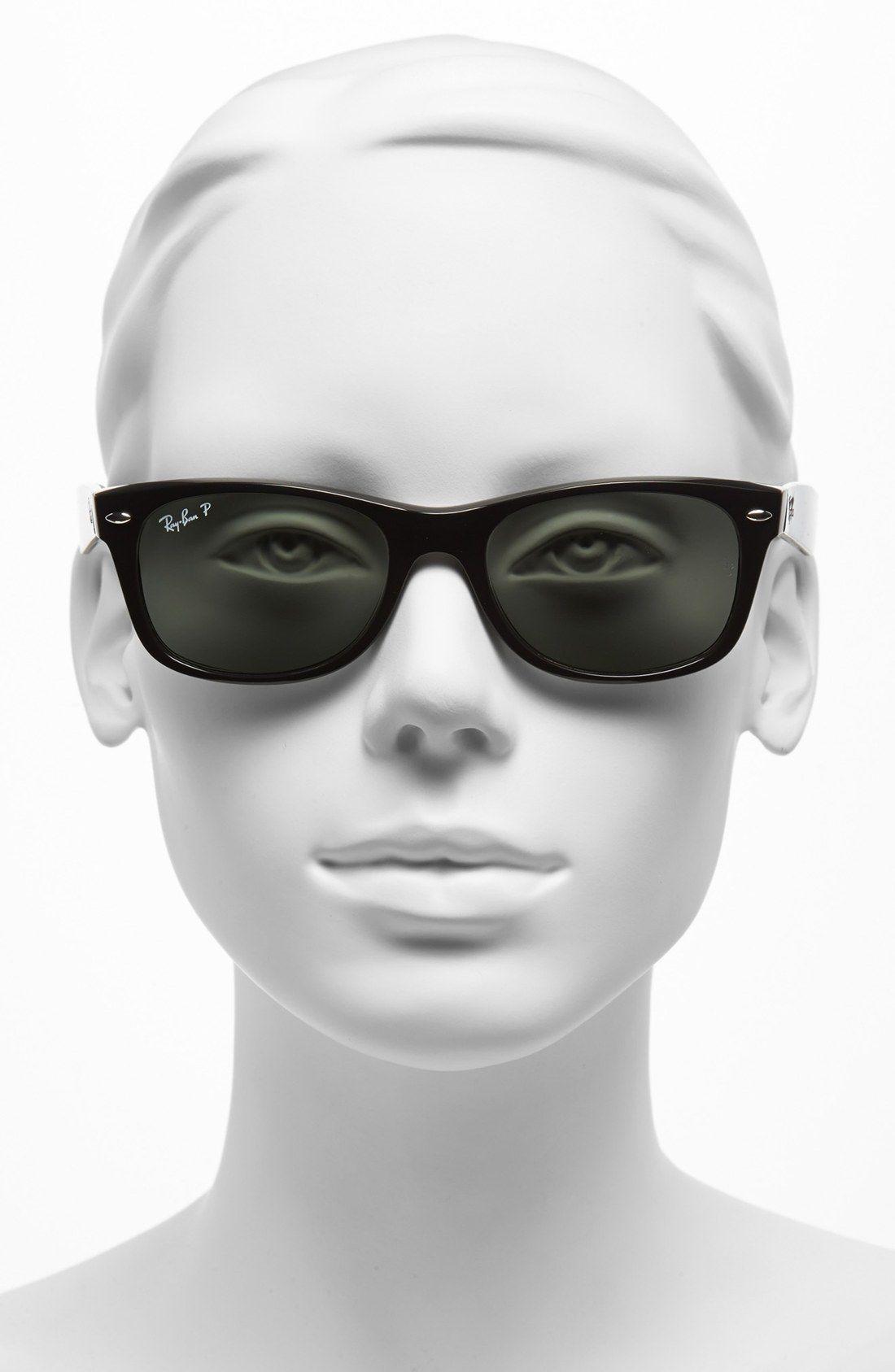 Ray Ban Small New Wayfarer 52mm Polarized Sunglasses Nordstrom Ray Ban Sunglasses Wayfarer Flat Top Sunglasses Classic Aviator Sunglasses
